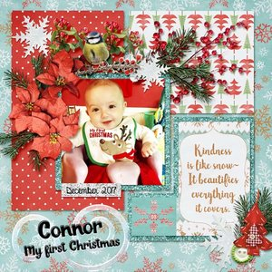 Connor's first Christmas