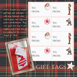 Dec 15 Weekend Challenge - Gift Tags