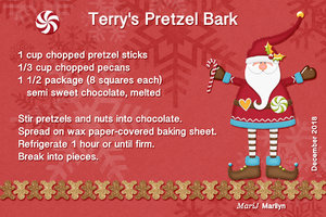 2018 SG Cookie Swap - Terry's Pretzel Bark