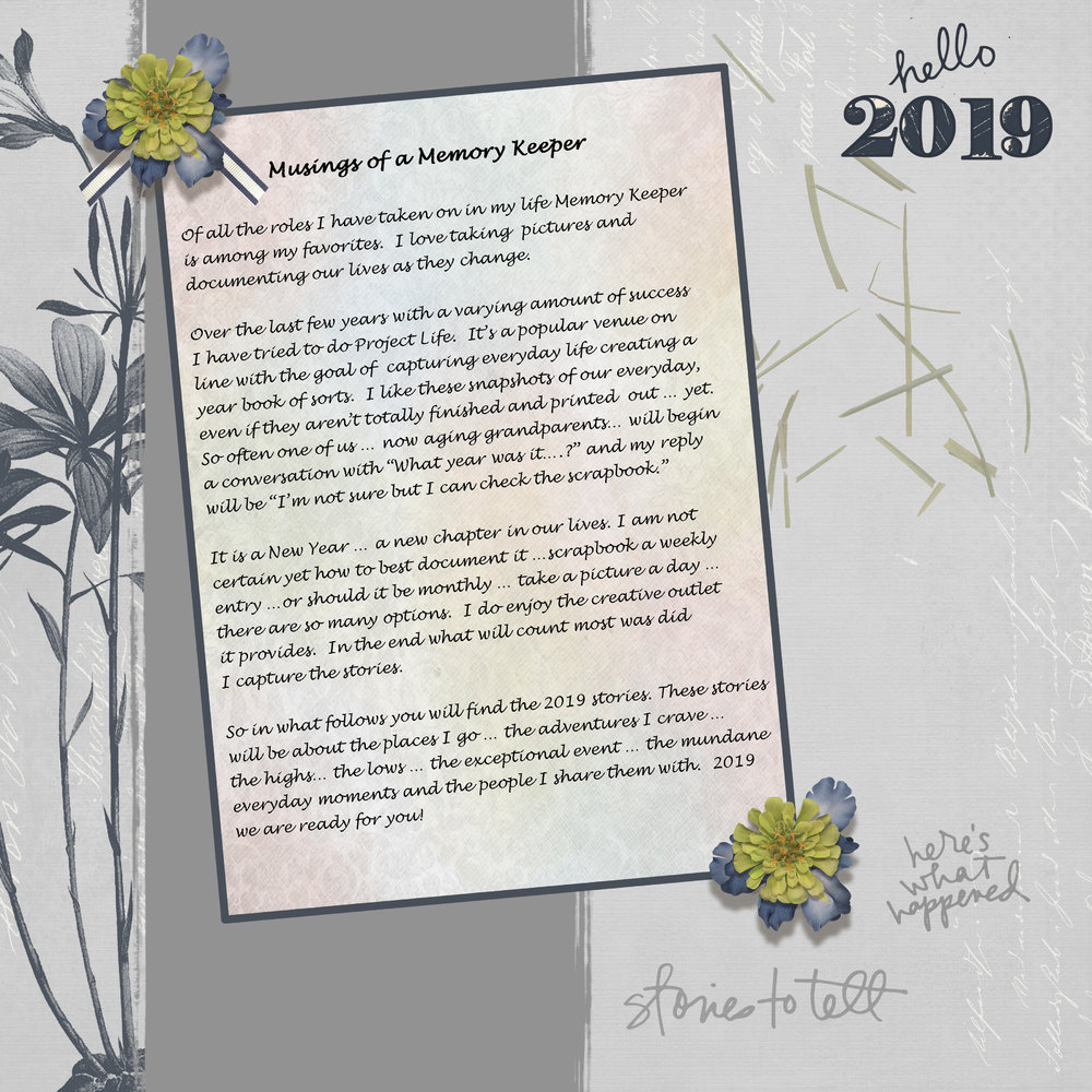 2019 Intro Page