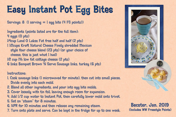 Easy Instant Pot Egg Bites