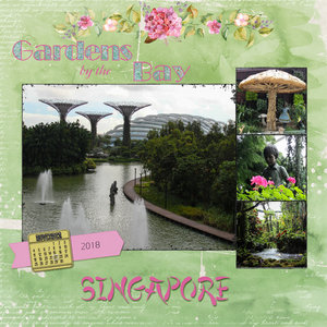 5 Jan - Gardens by the Bay 2018