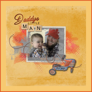 Daddy's Little Man-Color