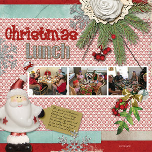 Jumpstart January Week #1 - Christmas Lunch
