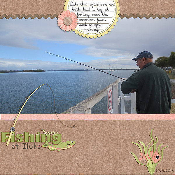 #2 February Challenge - Fishing at Iluka