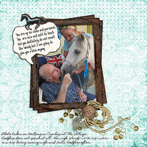 Newsletter5Feb - Godfrey and the Horse