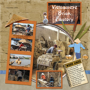 March Madness 2019 #1 - Vietnamese Brick Factory