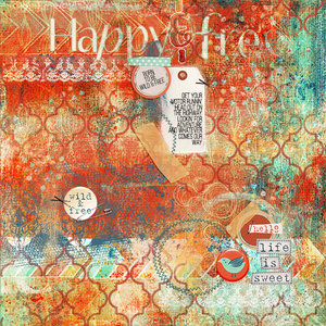 Art Journal - Happy & Free