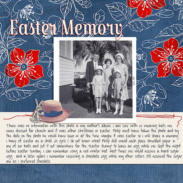 Newsletter16th April - Easter Memory