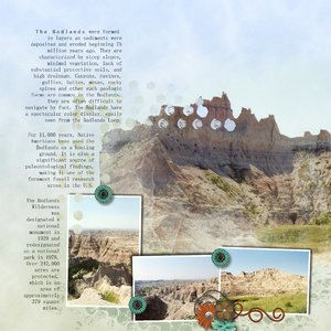 South Dakota Badlands Journaling