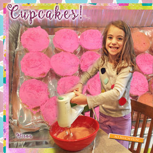 Tuesday Challenge 4/2/19 Circles: Alison Cupcakes