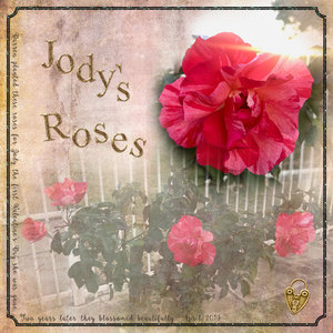 April 19 Challenge 3: Blend Photo - Jodys Roses