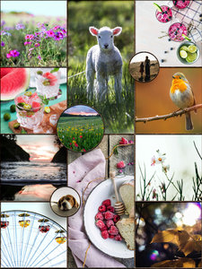 Mood Board for May Monthly Challenge #2