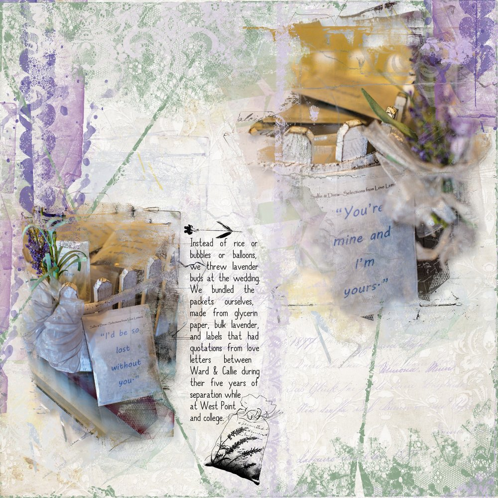 Lavender Packets of Love