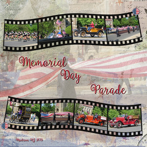 Weekend Challenge 7/8/19 Parade: Memorial Day 2015