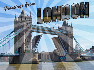 June 2019 Monthly Challenge #4: London Postcard