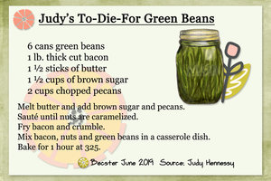 Judy's To-Die-For Green Beans
