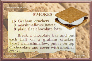 July 2019 Recipe Swap S'Mores
