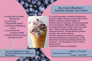 margel_BLUEBERRY ICE CREAM