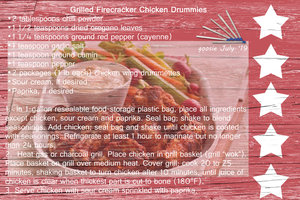 goosie_ Grilled Firecracker Chicken Drummies