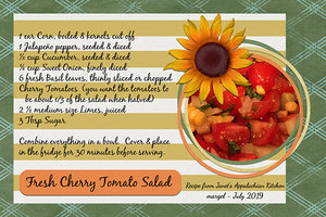 margel_FRESH CHERRY TOMATO SALAD