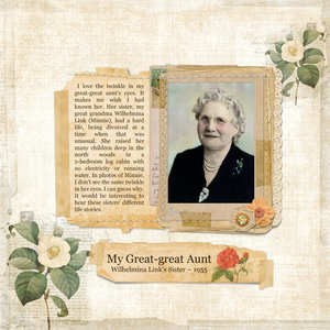 My Great-great Aunt
