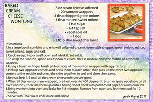 goosie_BAKED CREAM CHEESE WONTONS