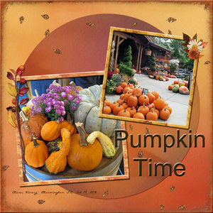 Weekend Challenge 9/7/19 Fall Colors: Pumpkin Time