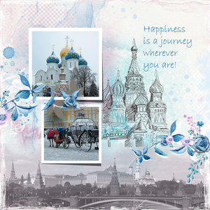 Happiness is a journey wherever you are