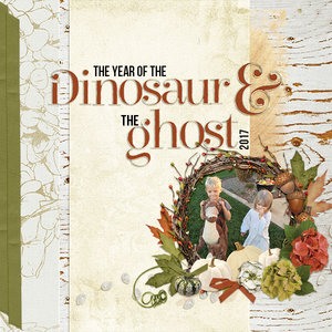 Year of the Dino and ghost