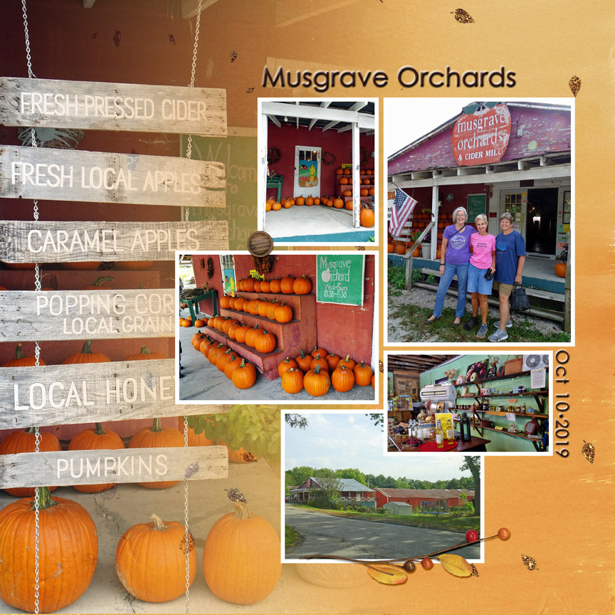 Tuesday Challenge 11/5/19 Fall Color Musgrave Orchards