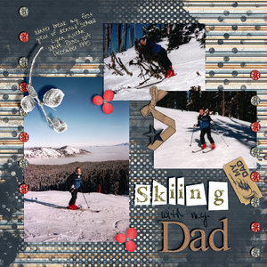 Skiing with my Dad
