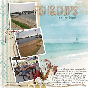 Nov Slow Scrap#4 - Fish and Chips