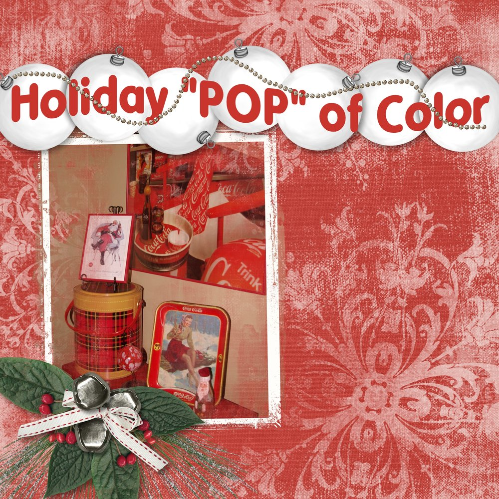 Holiday Pop of Color