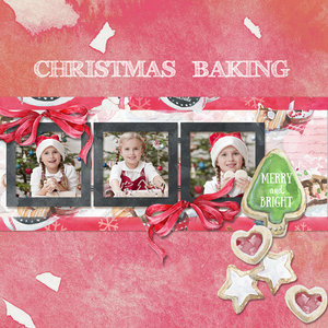 Baking for Christmas