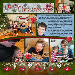 Merry Christmas & Happy New Year - Pg 1