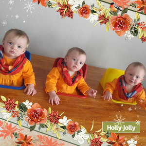Triplets feeding table