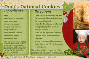 Exchange 2019 Oma's Oatmeal Cookies