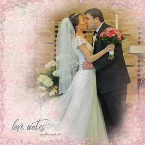 Newsletter Challenge 1/21/20: Celebration - Chris Sisi Wedding