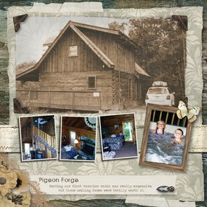 TN Pigeon Forge Cabin