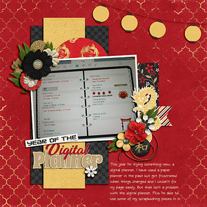 Year Of The Digital Planner