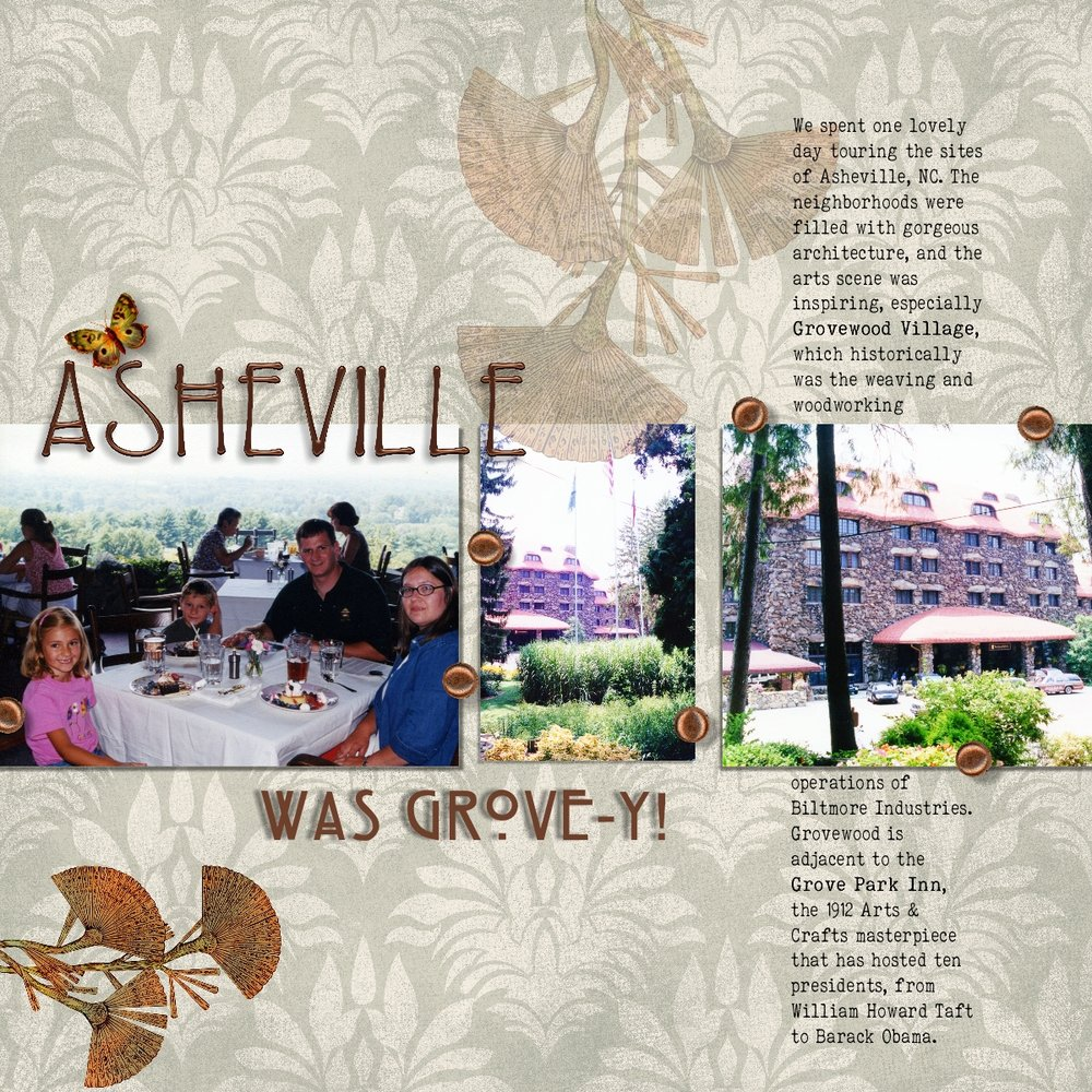 Asheville was Grove-y