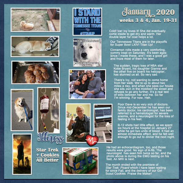 Project Life 2020, Weeks 3 & 4