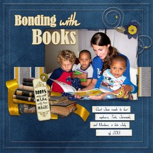 Bonding with Books revamp