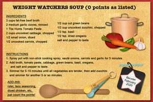 Weight Watchers Soup (0 points)