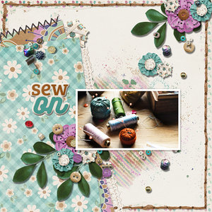 Layouts with Aimee Harrison Designs