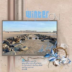 March layout Madness - #1 Winter on the beach