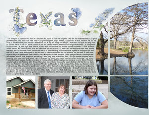 Texas 2020 for Weekly Newsletter challenge 3-3-2020