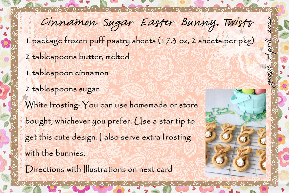 goosie _Cinnamon Sugar Easter Bunny Twists1
