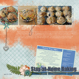 Recipe Swap Layout- Recipe Tried - BetC Blueberry Streusel Muffins